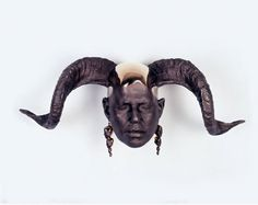 rams head x rona pondick Artist Inspiration, Sculpture, Installation Art, Art, Dark Art, Art World, Human Face, Stag Head, Art Blog