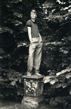 """Lord Snowden"" David Bowie c.1978 Photographer: Unknown"