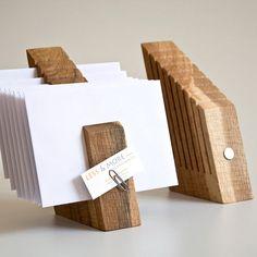 Wooden Letter Holder #homeoffice
