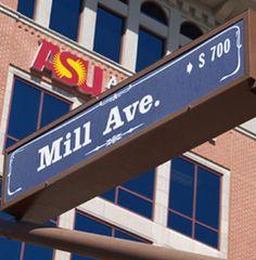 Mill Avenue street sign #kendrascott #teamKS