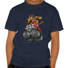 Scooby Doo Monster Truck1 T Shirt (more styles available) #cartoon #shirt #cartoonshirt