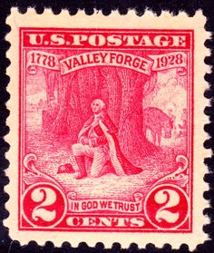 Washington at Prayer 1928 Issue-2c - U.S. presidents on U.S. postage stamps - Wikipedia, the free encyclopedia
