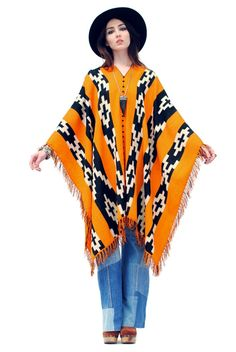 Sonora Mountains Poncho