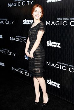 Elena Satine at the LA premiere of Magic City.