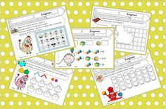 Autism Education, Montessori Math, Maths Puzzles, Book Images, Coloring Books, Activities For Kids, Teaching, Cycle 2, Games