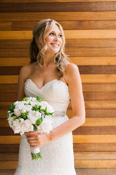 sweetheart neckline, photo by Brittany Lauren Photography http://ruffledblog.com/leftbank-annex-wedding #weddingdress #weddinggown