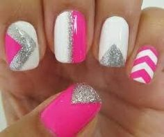 Love these nails! #naildesigns #pink