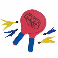 Goodminton Badminton Game - Get active with the fun of Goodminton! Badminton with a paddle play twist, Goodminton requires no net so you can enjoy it almost anywhere. A family favourite at the park, cottage, or beach!
