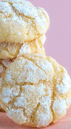 Gooey Butter Cookies - Best Ever (from scratch!) Melt-in-your-mouth (with gluten free option)