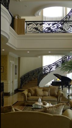 Beautiful iron work and flowing design