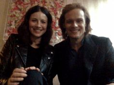 With the end of another Droughtlander in site, Amazon Video UK hosted a live Tumblr Q&A this afternoon with Outlander stars Sam Heughan and Caitriona Balfe. The pair discussed their favorite co…