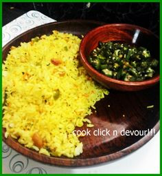 Lemon rice with veggies: easy,delicious and healthy lemon rice with veggies,recipe @ http://cookclickndevour.com/mixed-vegetable-lemon-rice