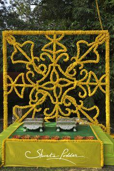 Indian Wedding ceremony design decor decorations ideas inspiration colors colorful  Stories by Joseph Radhik