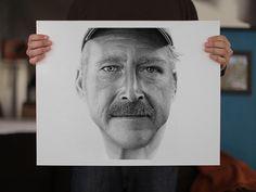 Ink Dots Portraits