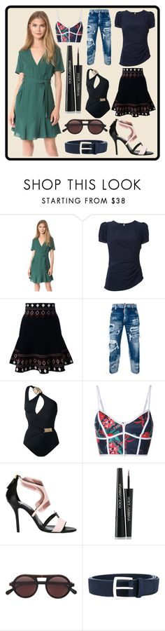 """""""Polyvorian Style"""" by cate-jennifer ❤ liked on Polyvore featuring A.L.C., Emporio Armani, Alexander McQueen, Dsquared2, MOEVA, Duskii, Pierre Hardy, Dolce&Gabbana, STELLA McCARTNEY and Orciani"""
