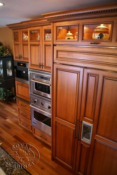 Environmentally Friendly Lyptus Wood Kitchen With Cabinetry From Royal  Cabinet Company