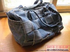 Fashion handbags from old jeans. Discussion on LiveInternet - Russian Service Online diary