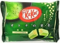 Japanese Kit Kat - Maccha Green Tea Bag 4.91 oz: Amazon.com: Grocery & Gourmet Food