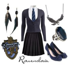 Ravenclaw, created by character-inspired-style on Polyvore
