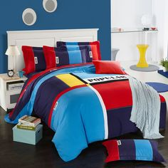 Find More Bedding Sets Information about Contrast Color Autumn Winter Sanding 100% Cotton Bedding Set King Queen Size 4PCS Duvet Cover Set housse de couette ropa de cama,High Quality cover agent,China bedding outlet Suppliers, Cheap cover bedding set from Top Qulity Human Hair Factory on Aliexpress.com