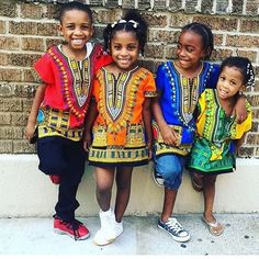 Wholesale 2016 Child New Fashion Design Traditional African Clothing Print Dashiki T-shirt For Boys and Girls African Fashion Designers, African Inspired Fashion, African Men Fashion, Africa Fashion, African Women, African Attire, African Wear, African Dress, African Dashiki