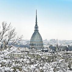 Torino di bianco vestita... ❄️ ❄️ ❄️