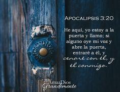 Apocalipsis 3:20