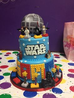 lego star wars cakes | jpg