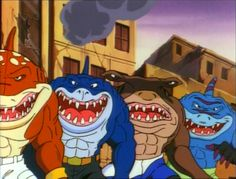 street sharks   Street Sharks Temp 1 y 2 Latino (Mega)