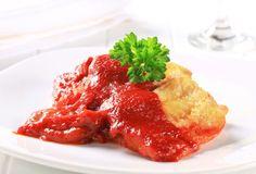 Pangasius s paradajkami