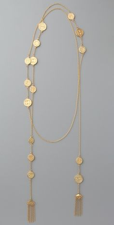House of Harlow 1960- Coin Wrap Necklace- Want this now!!