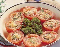 Como Hacer Receta de Tomates a la Provenzal, Cocina Saludable
