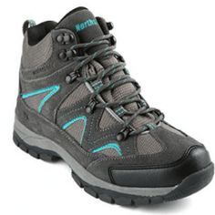 Northside Women's Snohomish Waterproof Hiking Boot Dark Gray/Dark Turquoise for sale Snow Boots, Winter Boots, Hiking Fashion, Cold Weather Boots, Hiking Boots Women, Waterproof Hiking Boots, Hiking Gear, Boots Online, Amazing Women