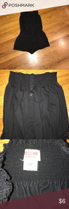Black swimsuit cover up Cute Black Mossimo  jumper swim suit cover up size small Mossimo Supply Co. Swim Coverups
