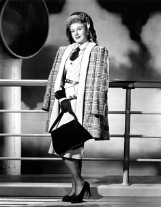 Ginger Rogers by Clarence Everett, mid-1940s.