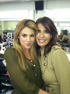 Kate Mansi and Kristian Alfonso Behind the scenes Days of our Lives