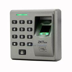 56.99$  Buy now - http://aliax4.worldwells.pw/go.php?t=32754677260 - RS485 Slave Reader ZK FR1300 Support Fingerprint + RFID + Keypad Smart Finger Sensor With Doorbell 86cmx86cm Socket Installation