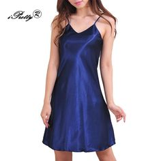 Gender: WomenItem Type: NightgownsPattern Type: SolidDresses Length: Above Knee, MiniMaterial Composition: 100% polyesterSeason: SummerSleeve Length(cm): Sleeve