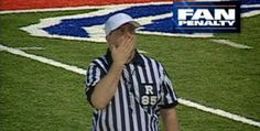 Marc Raco as referee in Jumbotron spot for the Buffalo Bills NFL team