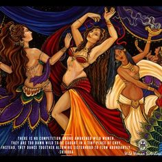 There is no competition among awakened Wild Women. They are too damn WILD to be…