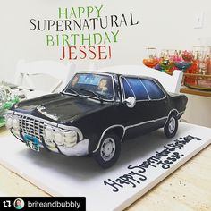 Supernatural '67 Chevy Impala Cake
