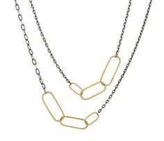 Rosanne Pugliese  Modern Link Necklace