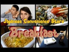 Delicious Breakfast from a Japanese Convenience Store! - YouTube