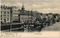 Königsberg i. Pr., Pregelstrasse, 1904