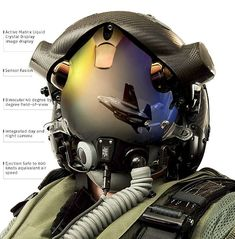F-35 Joint Strike Fighter integrated helmet display