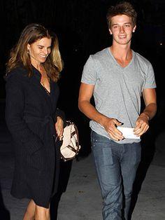 Maria Shriver and son Patrick Schwarzenegger
