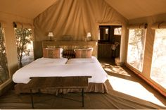 glamping tents | The Luxurious Outdoors. Go Glamping! | EAT LOVE SAVOR Luxury Magazine
