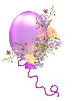 transparent multi color balloons