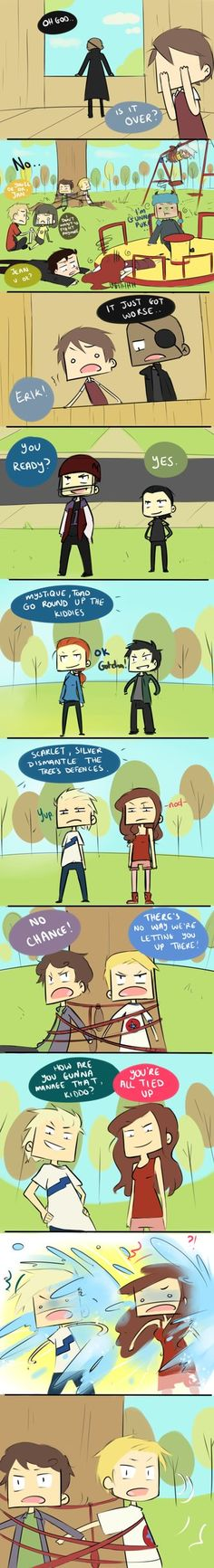 Attack of the Teens Pt. 11 by ~blargberries on deviantART