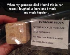 Exercise block